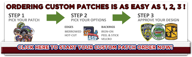 Three Steps to Completing a Custom Patch Order