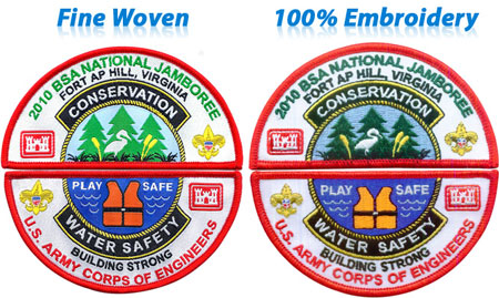 Buy Fine woven Patches | 247Patches.com